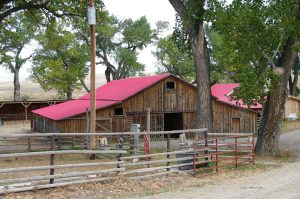 Barn at the TA Ranch where the Invaders were surrounded by the posse